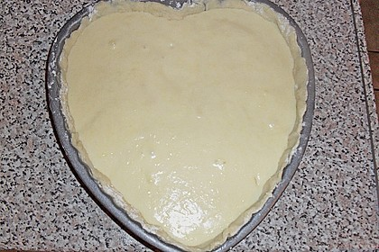 Apfelkuchen mit Creme - Guss 3