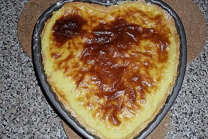 Apfelkuchen mit Creme - Guss 1