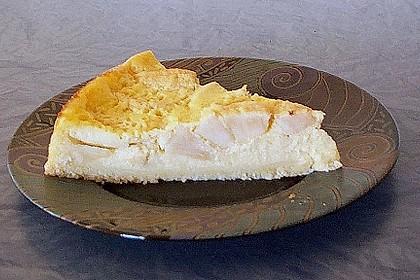 Apfelkuchen mit Creme - Guss 5