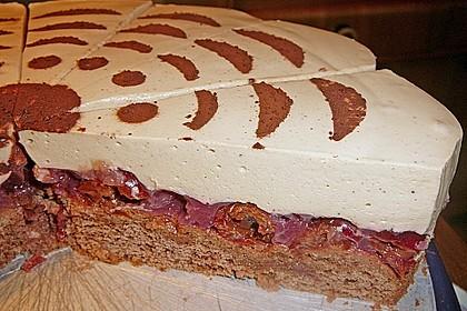 Cappuccino - Kirsch - Torte 1