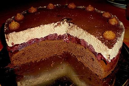 Cappuccino - Kirsch - Torte 3