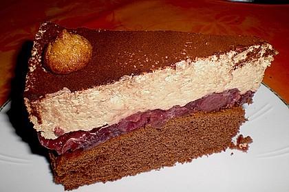 Cappuccino - Kirsch - Torte 5