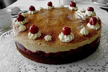 Cappuccino - Kirsch - Torte 2