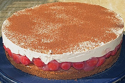 Cappuccino - Kirsch - Torte