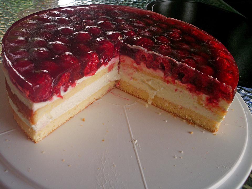 Kuchen mit himbeeren rezept
