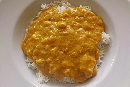 Fisch - Curry 1
