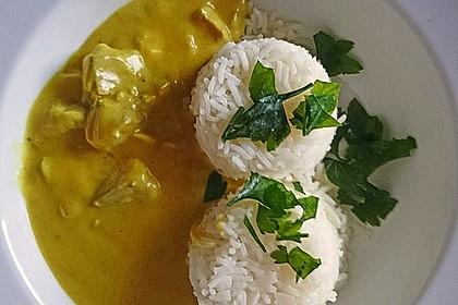 Fisch - Curry