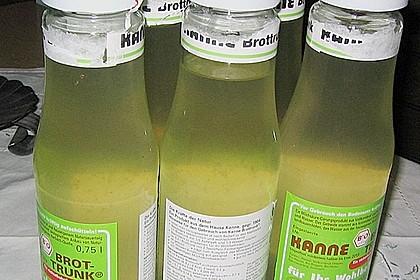 Zitronen - Sirup mit Pfefferminze und Zitronenmelisse 17