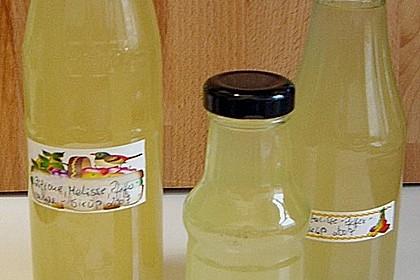 Zitronen - Sirup mit Pfefferminze und Zitronenmelisse 7