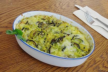 Kartoffel - Zucchini - Auflauf 1