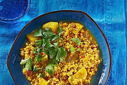 Rote - Linsen - Curry