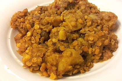 Rote - Linsen - Curry 10