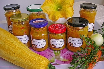 Zucchini - Möhren Chutney 1