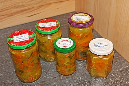 Zucchini - Möhren Chutney 2