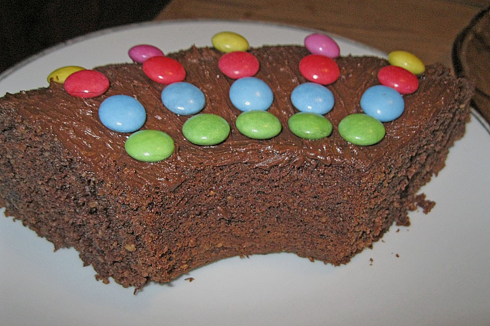 schokoladen nuss kuchen rezept mit bild von birgit66. Black Bedroom Furniture Sets. Home Design Ideas