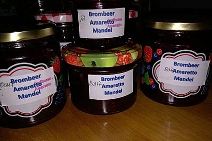 Brombeer - Mandel - Amaretto - Marmelade 13