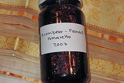 Brombeer - Mandel - Amaretto - Marmelade 17