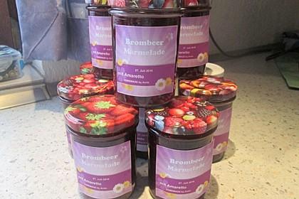 Brombeer - Mandel - Amaretto - Marmelade 12