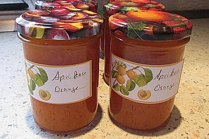 Aprikosen - Orangen- Konfitüre
