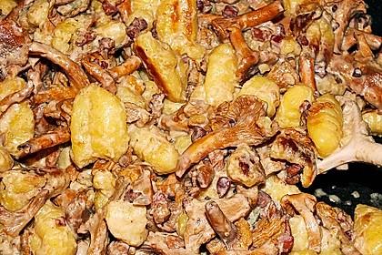 Gnocchi mit Pfifferlingen und Salbei 4