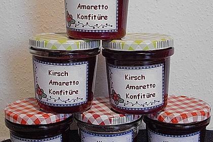 Kirschmarmelade mit Amaretto 21