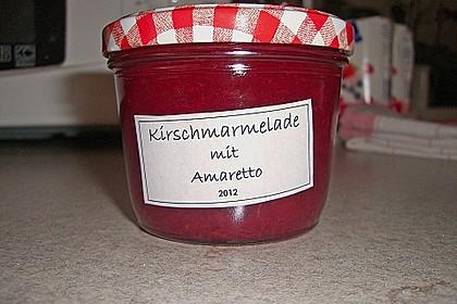 Kirschmarmelade mit Amaretto 12
