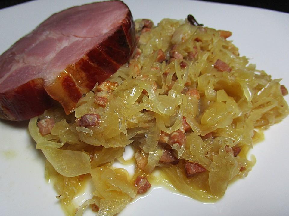Sauerkraut Dose Zubereiten