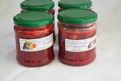 Erdbeermarmelade mit Amaretto 2