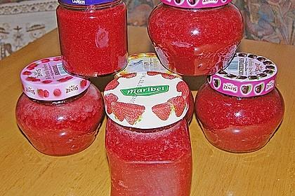 Erdbeermarmelade mit Amaretto 9
