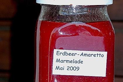 Erdbeermarmelade mit Amaretto 6
