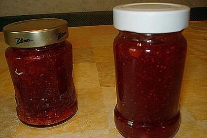 Erdbeermarmelade mit Amaretto 11