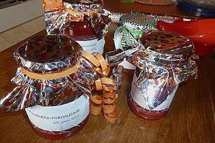 Erdbeermarmelade mit Amaretto 3