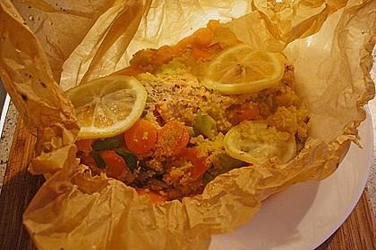 Lachs-Couscouspäckchen 150