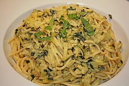 Zucchini - Nudeln