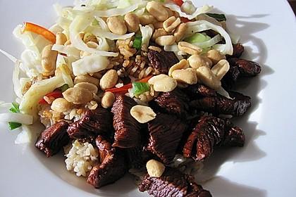Asiatische Basmati - Pfanne