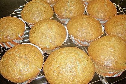 Zucchini Muffins mit saurer Sahne 30