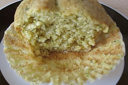 Zucchini Muffins mit saurer Sahne 37