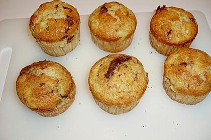 Zucchini Muffins mit saurer Sahne 14