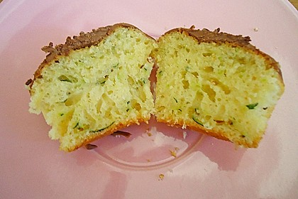 Zucchini Muffins mit saurer Sahne 8