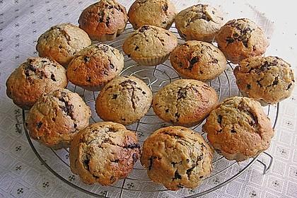 Zucchini Muffins mit saurer Sahne 9