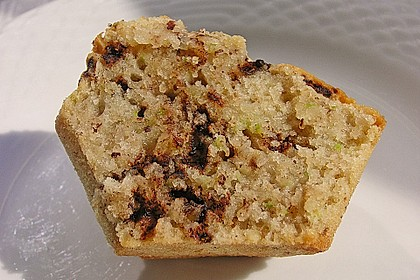Zucchini Muffins mit saurer Sahne 4
