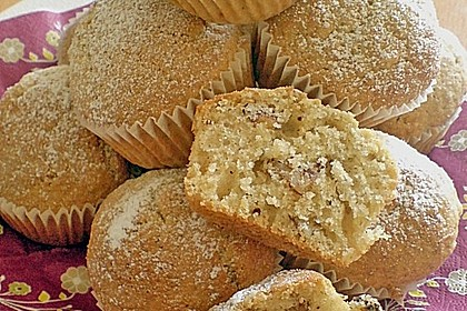 Zucchini Muffins mit saurer Sahne 2