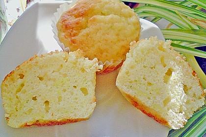 Zucchini Muffins mit saurer Sahne 34