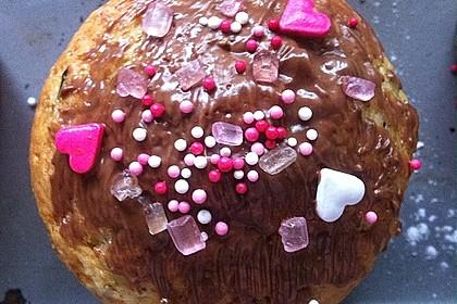 Zucchini Muffins mit saurer Sahne 21