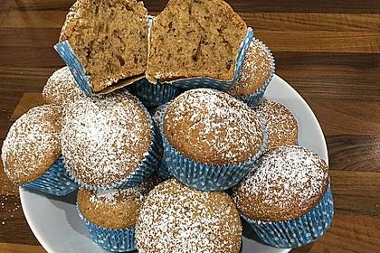 Zucchini Muffins mit saurer Sahne 1