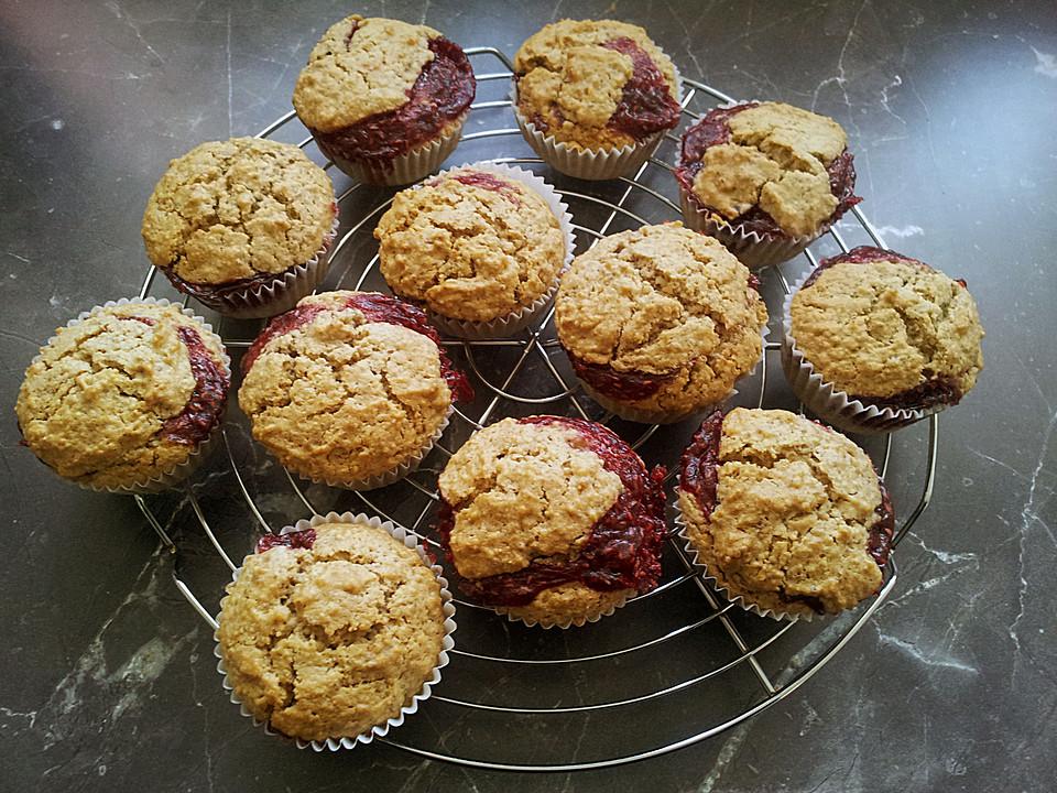 Linzer Muffins (Rezept mit Bild) von mima53 | Chefkoch.de