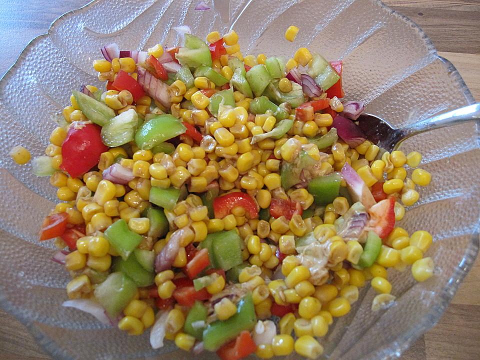 Paprikasalat Mit Mais