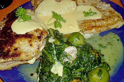 Hähnchen Cordon Bleu mit Kartoffeln mediterrane Art und frischem Salat 3