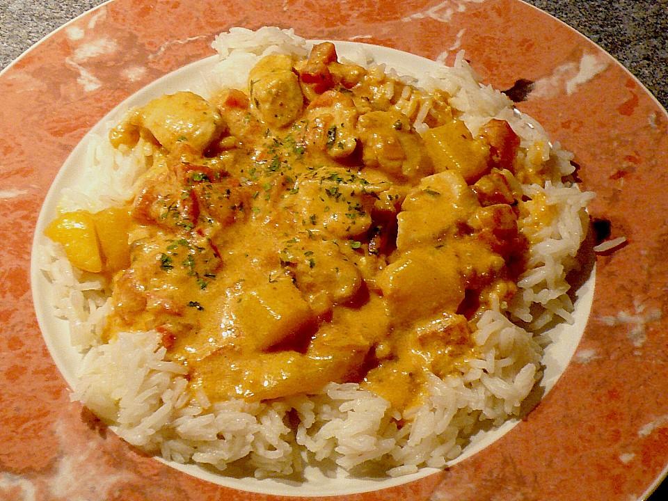 Chicken - Mango - Curry (Rezept mit Bild) von Karukera | Chefkoch.de