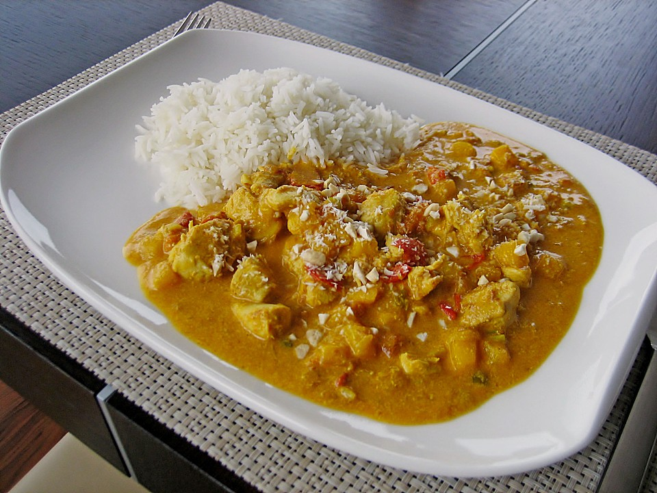 Curried Mango Chicken Recipes — Dishmaps